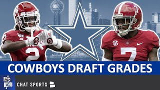 Cowboys Draft Grades: All 7 Rounds From 2020 NFL Draft Ft. CeeDee Lamb, Trevon Diggs & Bradlee Anae