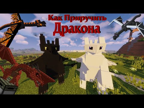БЕЗЗУБИК В МАЙНКРАФТ!?? L Обзор мода Minecraft - Как приручить дракона (Обзор мода #4)