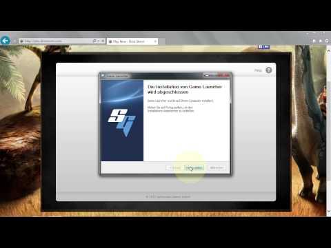Splitscreen Game Launcher Guide (Internet Explorer)