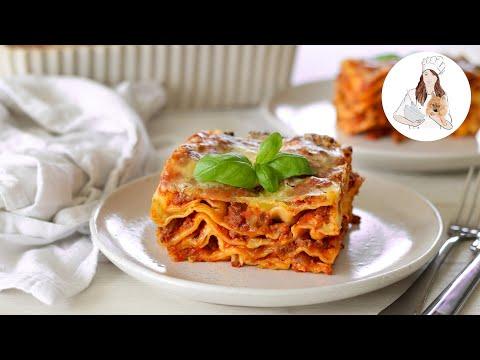 Lasagna Recipe   Recipes by Carina
