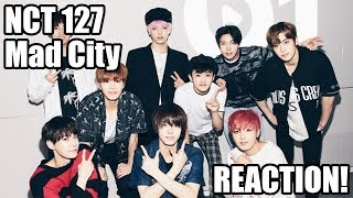Nct 127 - mad city reaction! (insane ...