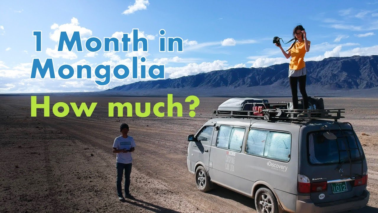 How much did it cost to travel Mongolia for 29 days - Van Life road trip in Mongolia