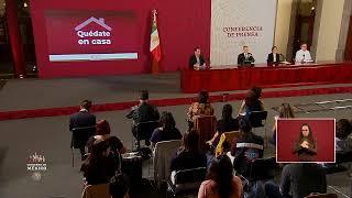 #ConferenciaDePrensa: #Coronavirus #COVID19 #QuédateEnCasa | 13 de abril de 2020