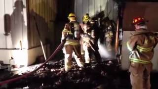 Fire Damages New Holland Business
