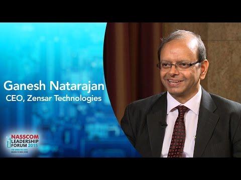 Ganesh Natarajan, CEO, Zensar Technologies