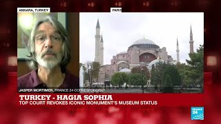 Turkish top court revokes Hagia Sophia's museum status, 'tourists should still be allowed in'