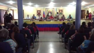 Dia de la Mujer Camara Municipal Anaco Sesion Extraordinaria