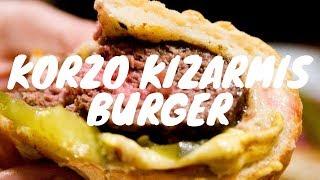 Korzo Kızarmış Cheese Burger