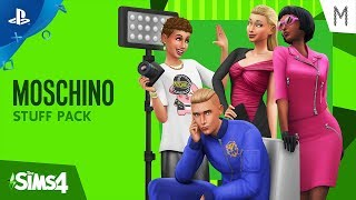 The Sims 4 - Gamescom 2019 Moschino Stuff Pack Official Trailer | PS4