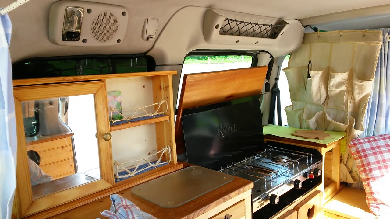 Beautiful 2004 Citroen Berlingo Micro Camper Van Natural Wood Conversion