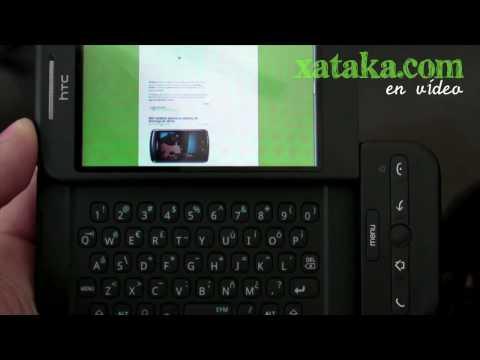 HTC Dream en vídeo
