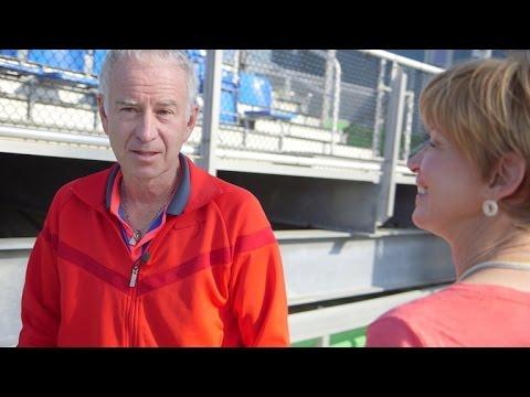 John McEnroe on teaching young players