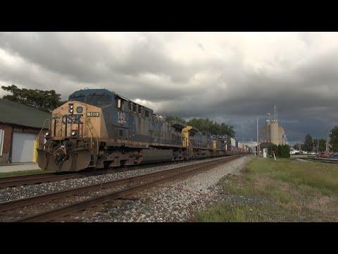 Ep. 458: Classic CSX Locomotive Consists on the Willard Sub!