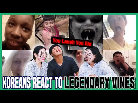 Koreans In Their 30s React To LEGENDARY VINES