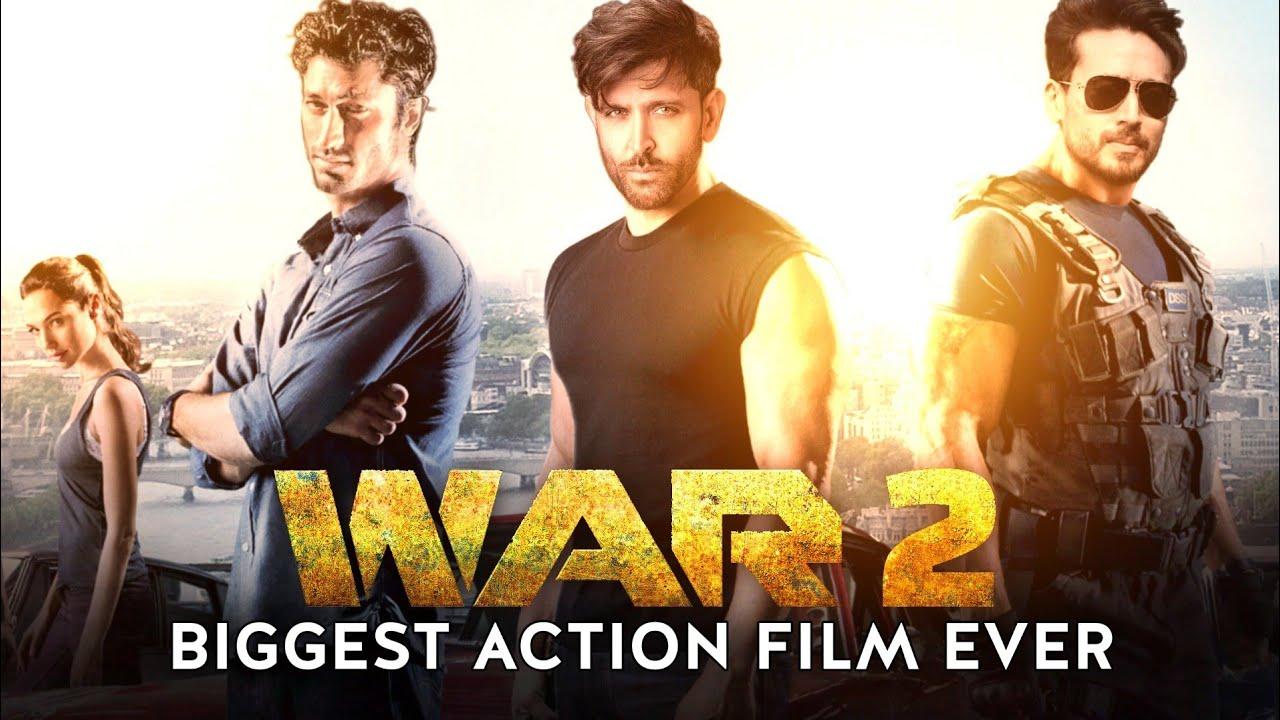 Download Hrithik Roshan | Tiger Shroff | Vidyut Jammwal | War 2 Biggest Action Film Ever