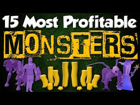 15 MOST Profitable Monsters To Make Money In OSRS