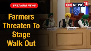 Farmers Threaten To Walk Out Of 5th Round Of Talks If Farm Laws Are Not Repelled   CNN News18