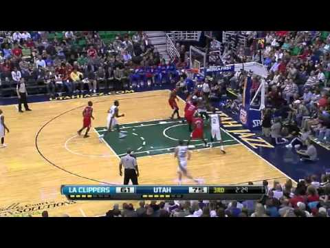 los angeles clippers 91 vs 99 utah jazz_Full highlights_NBA preseason game