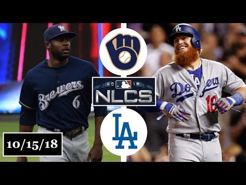 Milwaukee Brewers vs Los Angeles Dodgers Highlights || NLCS Game 3 || October 15, 2018