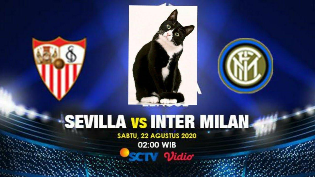 Prediksi Inter Milan Vs Sevilla Ala Kucing Hitam Sang Master Youtube