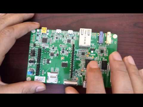 3 STM32F7 Discovery Board Quick Introduction - YouTube