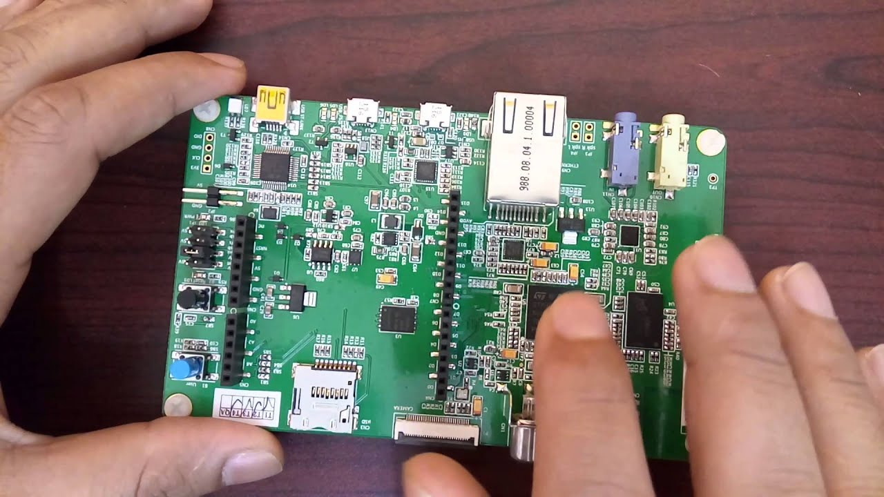 3 STM32F7 Discovery Board Quick Introduction