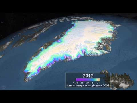 NASA   Measuring Elevation Changes on the Greenland Ice Sheet