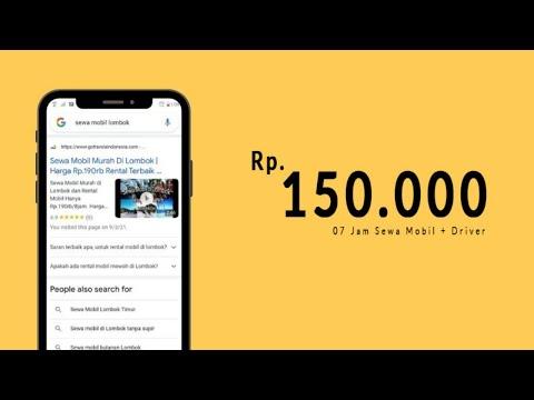 Sewa mobil murah di lombok - Daftar Harga 2018 Youtube