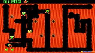 Digger (remake) gameplay (PC Game, 1992)