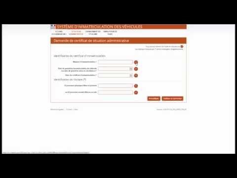 Certificat de non gage officiel gratuit