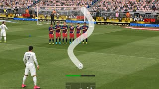 PES 2017 FREE KICK TUTORIAL - 100% WORKING