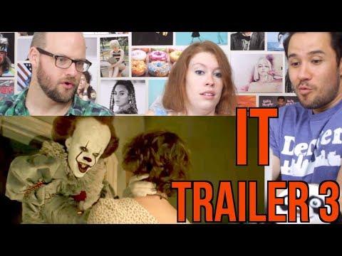 IT - Trailer #3 - REACTION!!