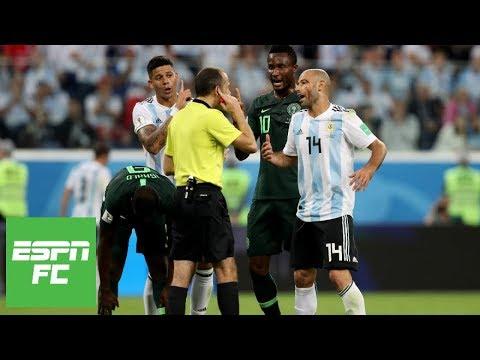 Download Making sense of crucial non-handball call in Argentina's 2-1 World Cup win over Nigeria | ESPN FC