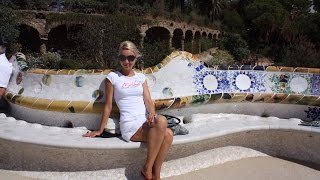 Парк Гуэля и Саграда Фамилия в Барселоне(В этом видео мы продолжим осмотр шедевров легендарного Антони Гауди. Ведь побывать в Барселоне и пройти..., 2016-08-29T20:14:06.000Z)