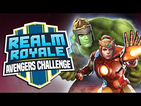 """The """"Avengers"""" Challenge In Realm Royale?!"""