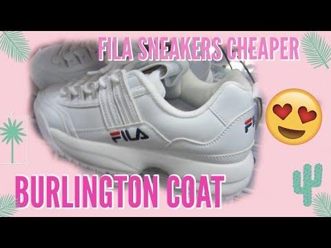 burlington fila shoes