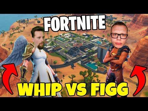 WHIPPIT vs FIGGEHN I FORTNITE *PARADISE PALMS* Playground