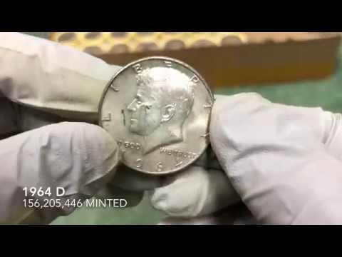 Silver Sunday! Coin Roll Hunting Half Dollars! Looking for Old Silver! More SILVAH Coins!