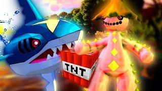 Minecraft Pixelmon - PIXELMON MINEFIELD! (Minecraft Pokemon Mod Battle)