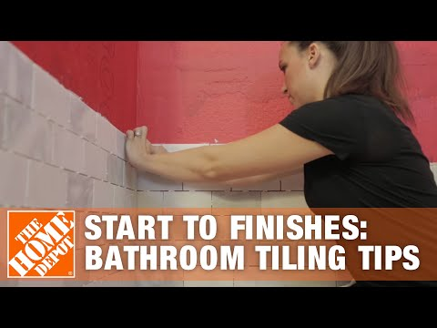Start to Finishes: Bathroom Tiling Tips