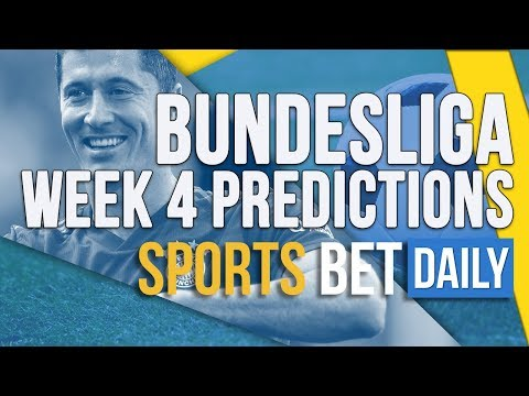 Bundesliga Week 4 Best Bets, Match Odds & Predictions | Football Betting Tips