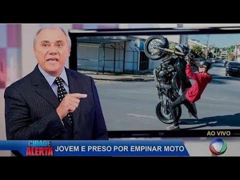 Hugo Milgrau Foi Preso Empinando Moto