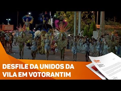 Votorantim: carnaval movimenta a cidade - TV SOROCABA/SBT