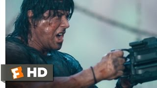 Rambo (11/12) Movie CLIP - Mopping Up (2008) HD