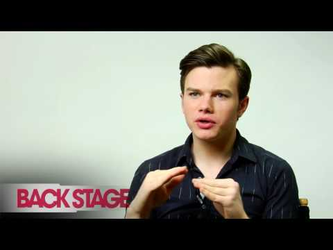 'Glee': Chris Colfer Interview (Part 1)