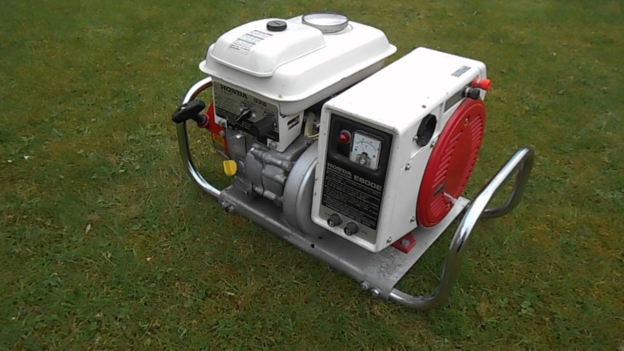 Honda e800e generator with g28 engine for sale youtube for Generator motor for sale