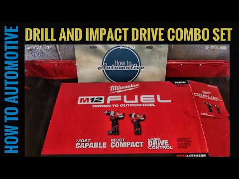 Milwaukee Tools New M12 FUEL Hammer Drill & Impact Driver Combo 2598-22