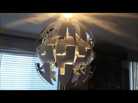 HOW TO INSTALL OR REPLACE A LIGHT FIXTURE IKEA PS 2014