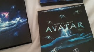Avatar (2009) Extended Collector's Edition - Blu Ray Review And Unboxing