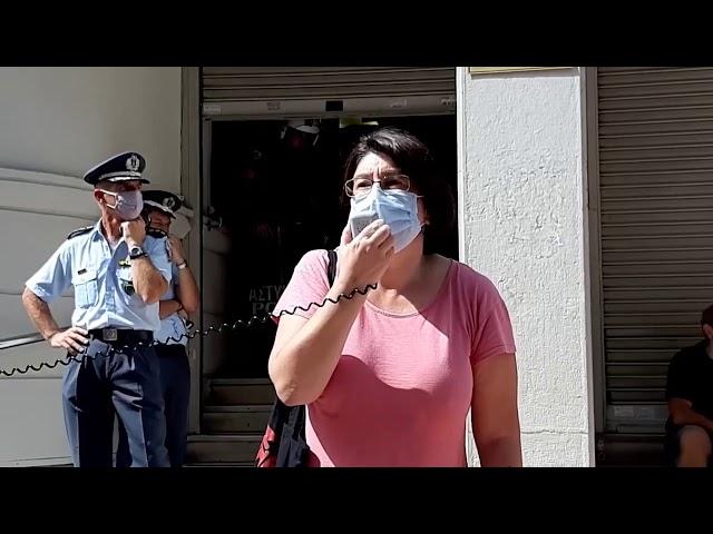 Χαιρετισμός της Προέδρου Χριστίνας Σκαλούμπακα στην Απεργία Νοσοκομειακών Γιατρών 24/9/2020